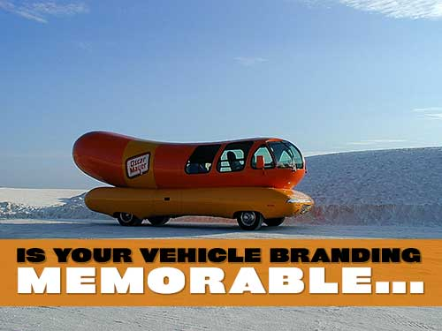 Is Your Vehicle Branding Memorable?