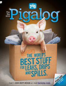 New Pig Brand is Felt