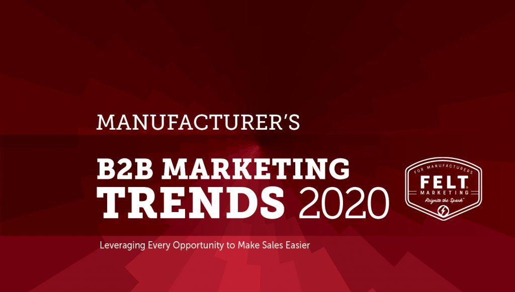 Marketing Trends for Manufacturers 2019